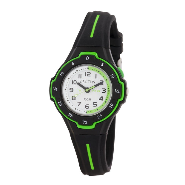 Time Guide - Cactus Time Teacher Kids Watch - Black Watches shop cactus watches