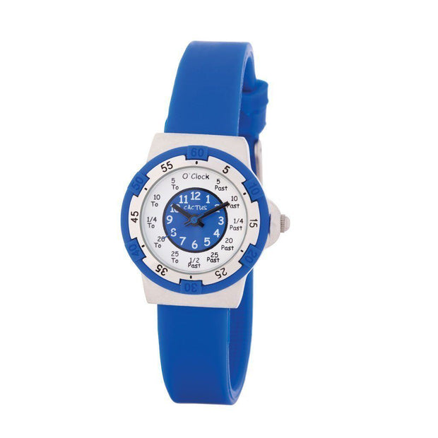 Time Teller - Kids Time Teacher (Blue) Watches shop cactus watches
