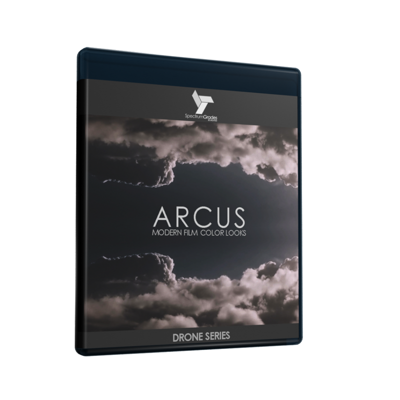 ARCUS Contemporary Collection Film Looks Presets LUTs