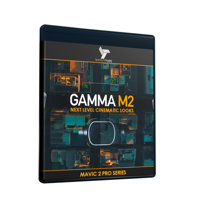 GAMMA M2 - VIVID CINEMATIC LOOKS LUTs For Dji Mavic 2 Pro