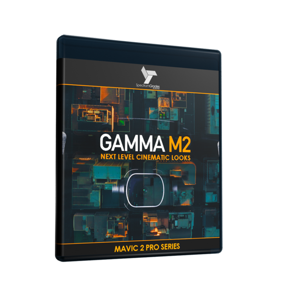 GAMMA M2 - Dji Mavic 2 Pro LUTs & Tools Set - VIVID CINEMATIC LOOKS