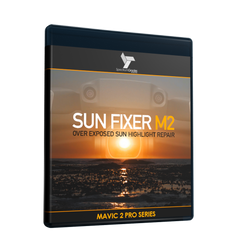 SUN FIXER M2 - Dji Mavic 2 Pro LUTs & Tools Set - Advanced repair for blown out yellow highlight sun flares