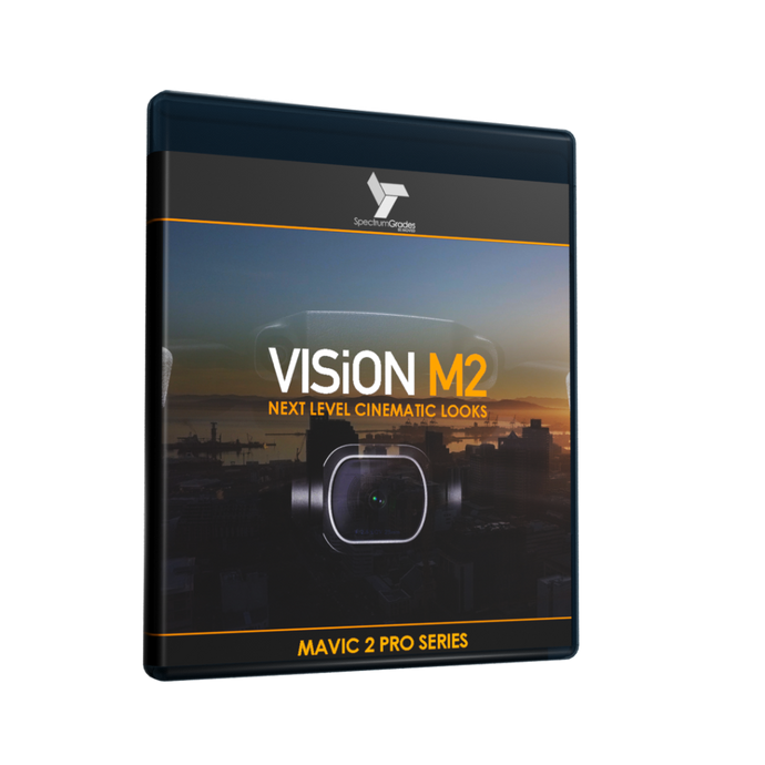 VISiON M2 - DRAMATIC CINEMATIC LOOKS LUTs For Dji Mavic 2 Pro