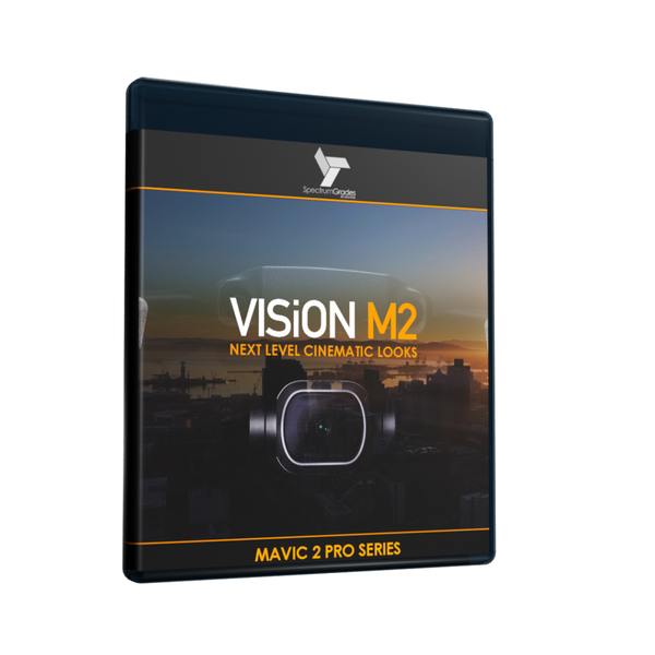 VISiON M2 - Dji Mavic 2 Pro LUTs & Tools Set - DRAMATIC CINEMATIC LOOKS LUTs For Dji Mavic 2 Pro