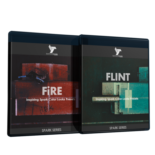 DJI SPARK: FLiNT & FiRE creative color value combo preset LUTs collection