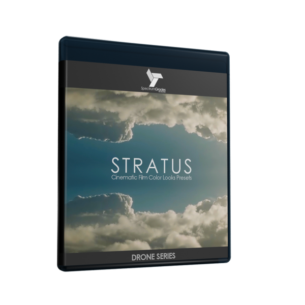 STRATUS Cinematic Film Color Looks Presets LUTs