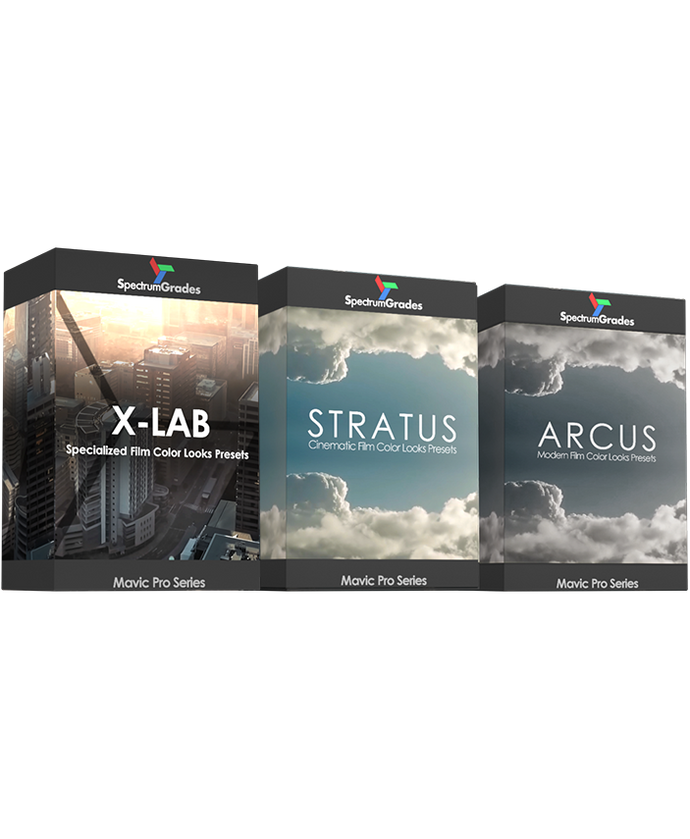 COMPLETE COMBO : X-LAB, STRATUS & ARCUS PRESETS LUTs