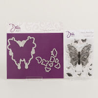 DaliART- Henna Butterflies Stamp & Matching Die – As seen on TV - DaliART