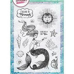 Becky Seddon 'Believe In Coralia' A6 Clear Stamp Set - DaliART