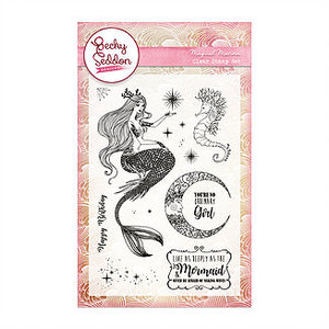 Becky Seddon 'Magical Marina' A6 Clear Stamp Set - DaliART