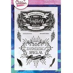 Becky Seddon 'Angels Are Near' A6 Clear Stamp Set - DaliART