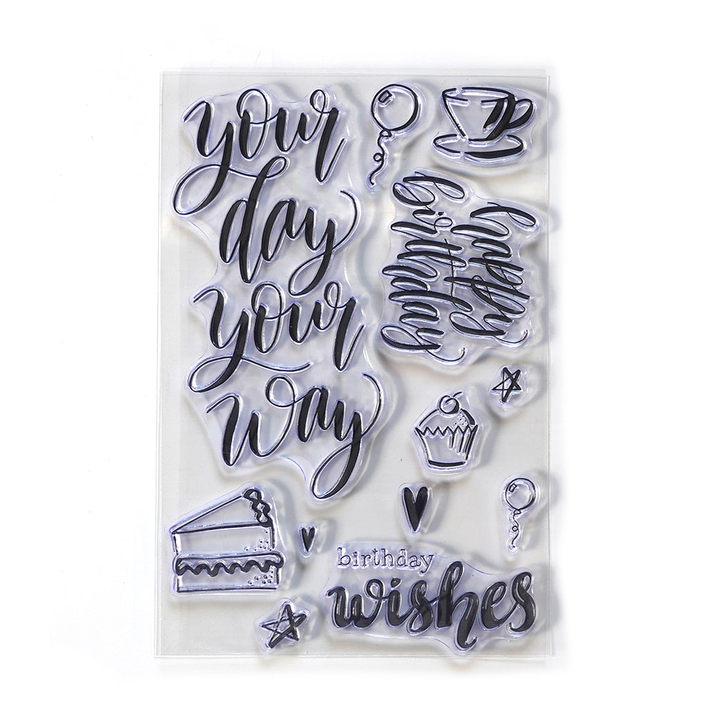 ECD Sue Smith Stamp - Your Day - CS171