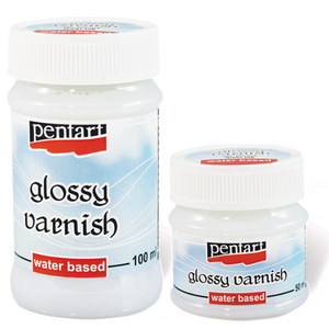 Glossy varnish, water based, 50 ml - DaliART