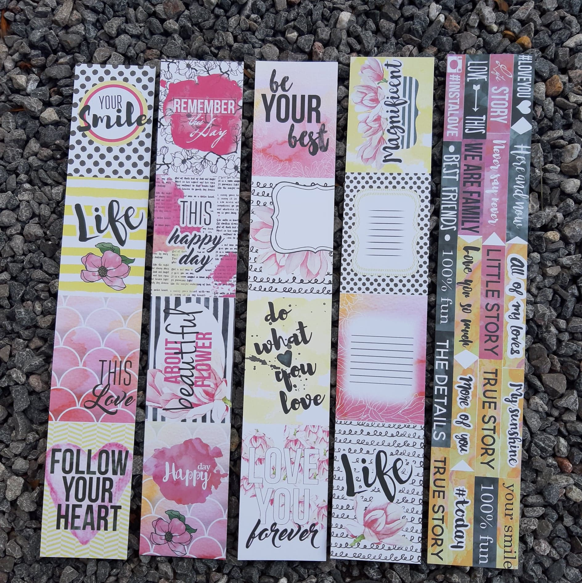 DaliTV17 - Fabrika Decoru Sentiment Tags - FDSPSC - Various, Embellishments & Trims by The Craft House