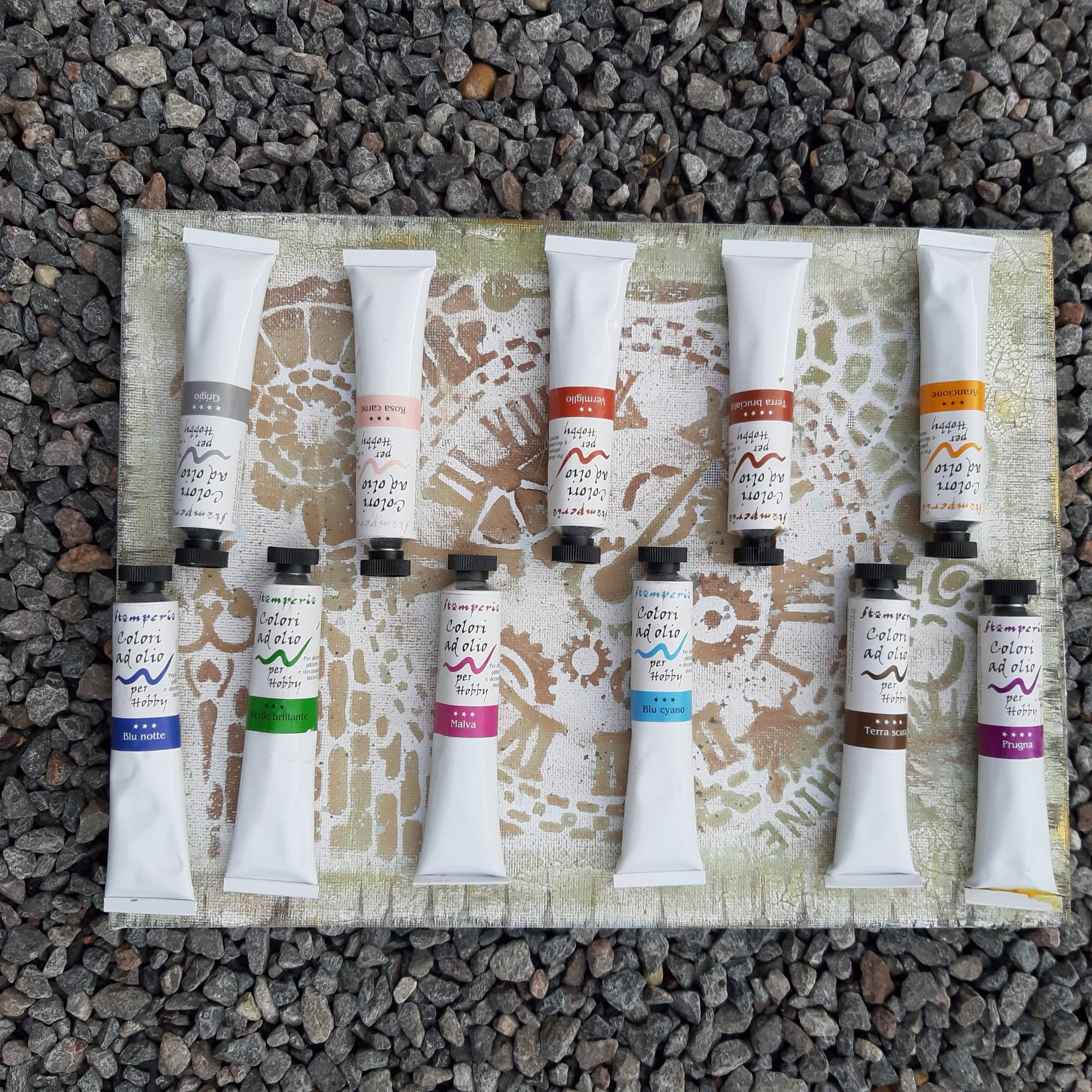 Stamperia Oil Paint Tubes - 21mls, Art & Craft Paint by The Craft House