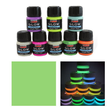 Pentart Glow In The Dark Paint - 30ml
