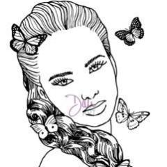DaliART Butterfly Lady Stamp - DaliART