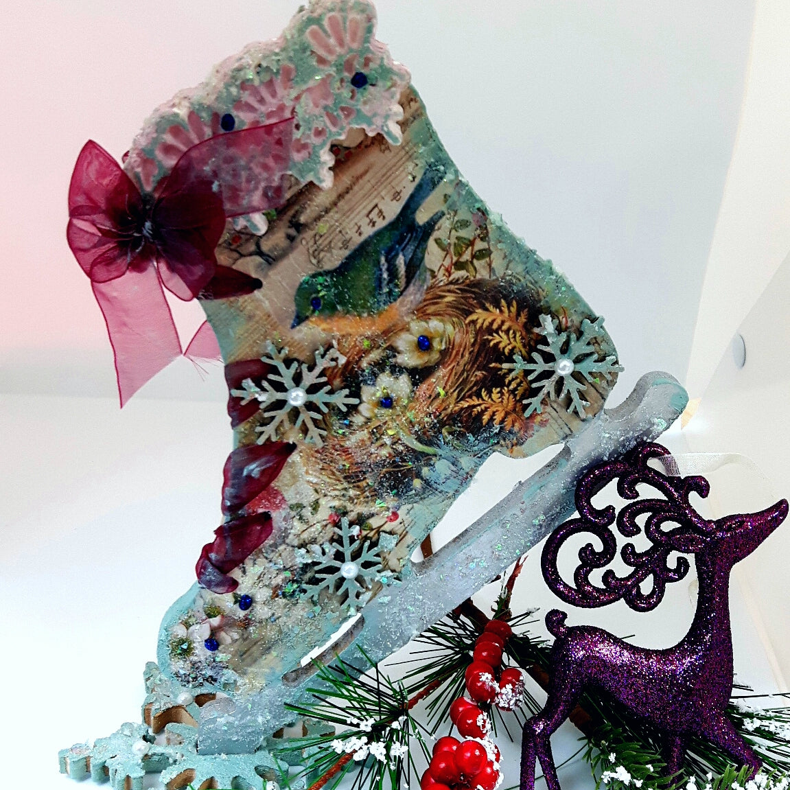 DaliART -  Dancing on Ice Kit with Step By Step Video, Art & Craft Kits by The Craft House