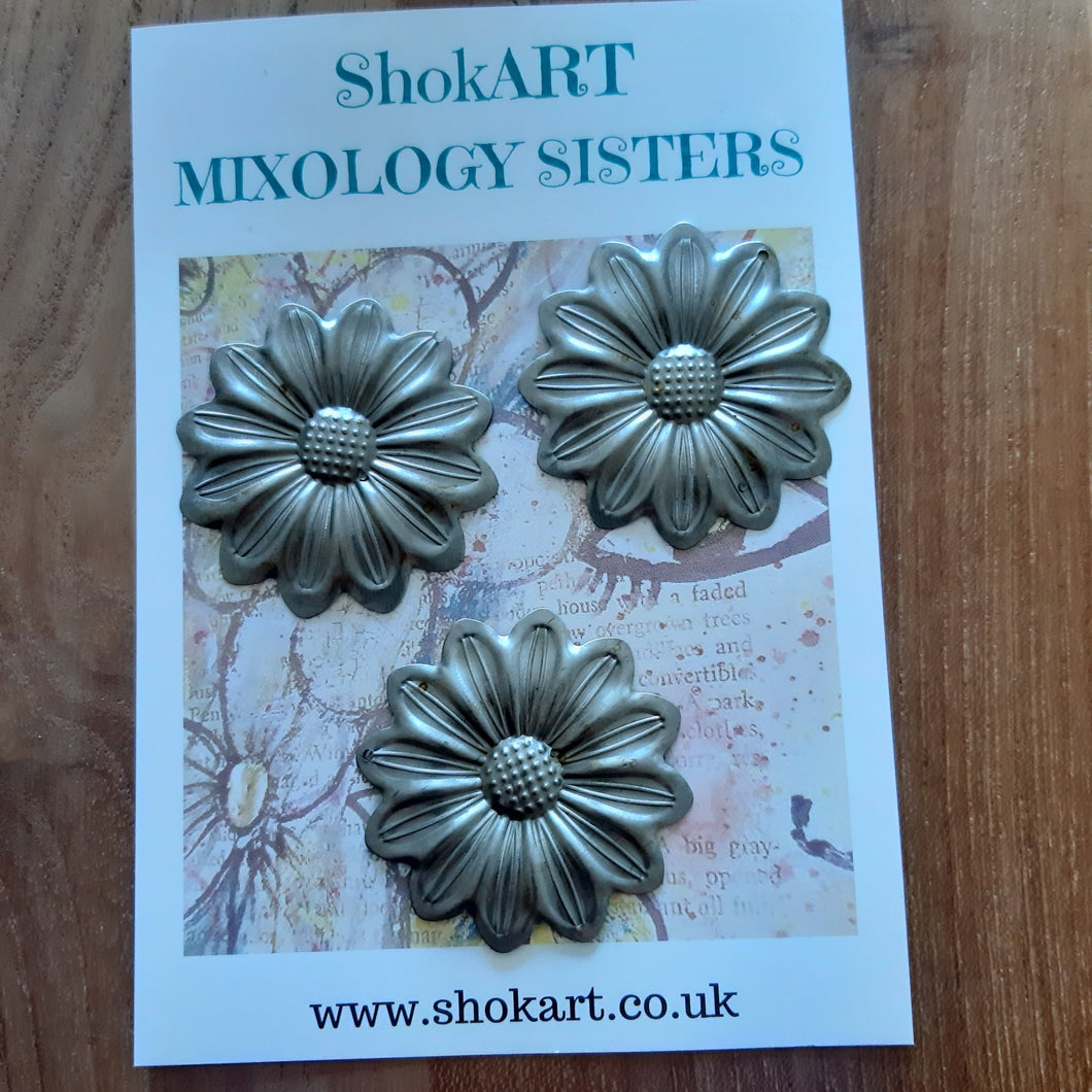 ShokART Metal Embellishments - Large Flowers 1