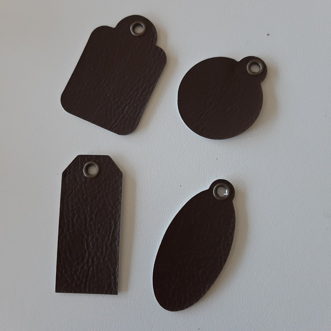 ShokART Leather Tags - 2 options