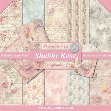 Stamperia - Shabby Rose Collection - 12