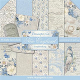 "Stamperia New England Collection - 12"" x 12"" Paper Pad"