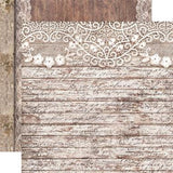 "Stamperia - Rose Laces & Wood - 12"" x 12"" Paper Pad"