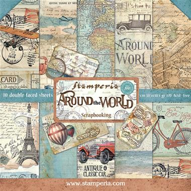 Stamperia - Around the World Collection - 12
