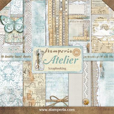 Stamperia - Atelier Collection - 12