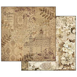 "Stamperia Old Lace - 12"" X 12"" Paper Pad"