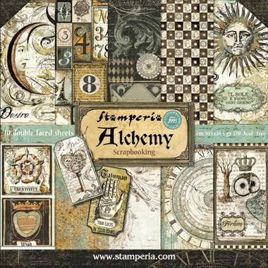 NEW Stamperia Alchemy Collection - 12