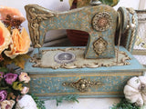Sewing Machine to decorate in Wood