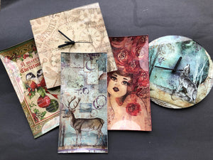 Craftalong Glass Plate  & Coaster Kits- 3 options with Video Tutorial