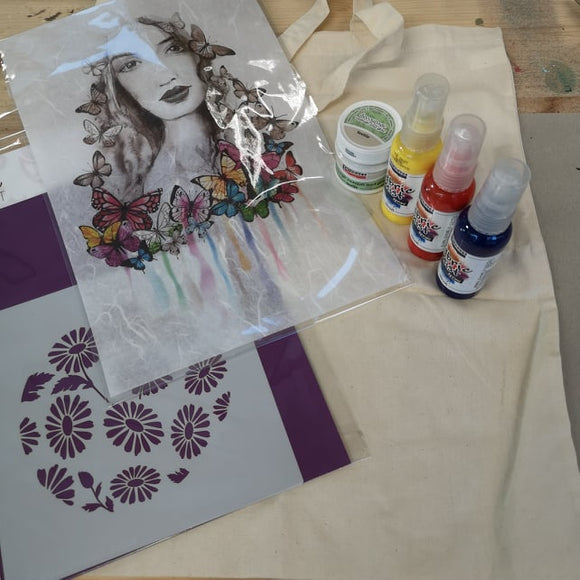 Craftalong Kits - Fabric Bag Kit/Project with Video Tutorial