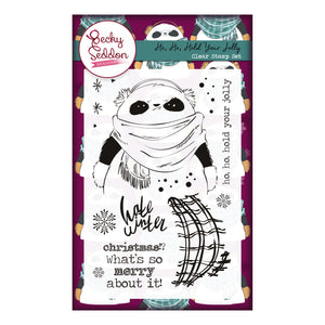 Becky Seddon Designs 'Ho, Ho, Hold Your Jolly' A6 Clear Stamp Set - DaliART