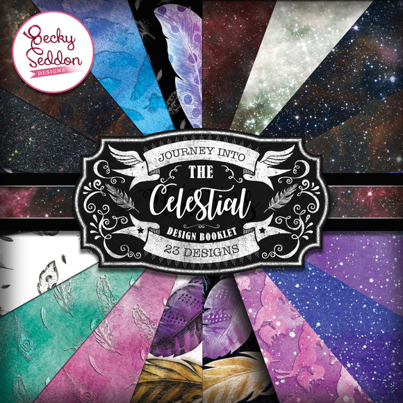 Becky Seddon Designs 'Journey into the Celestial' Design Booklet - DaliART