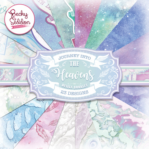 Becky Seddon Designs 'Journey into the Heavens' Design Booklet