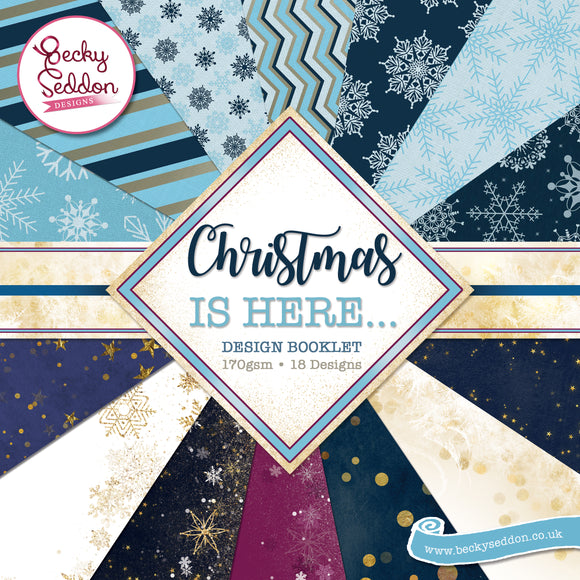 Becky Seddon Designs 'Christmas is Here' Design Booklet - DaliART