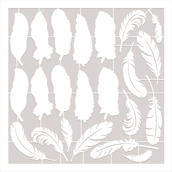 Becky Seddon Designs 'Feathers from Heaven' Laser Cut Sheets x 4
