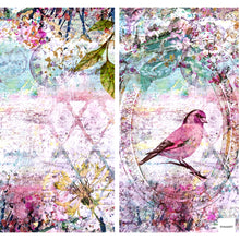 "Load image into Gallery viewer, NEW ShokART ""Bird Song"" - 8"" x 8"" Paper Pad- Limited Edition- SHBS01"