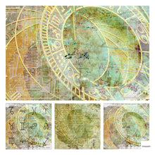 "Load image into Gallery viewer, NEW ShokART ""Astral Journey"" - 8"" x 8"" Paper Pad- Limited Edition - SH8AJ03"