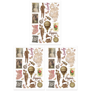 Becky Seddon 'Nostalgic Notes' Laser-Cut Pieces (72) - DaliART