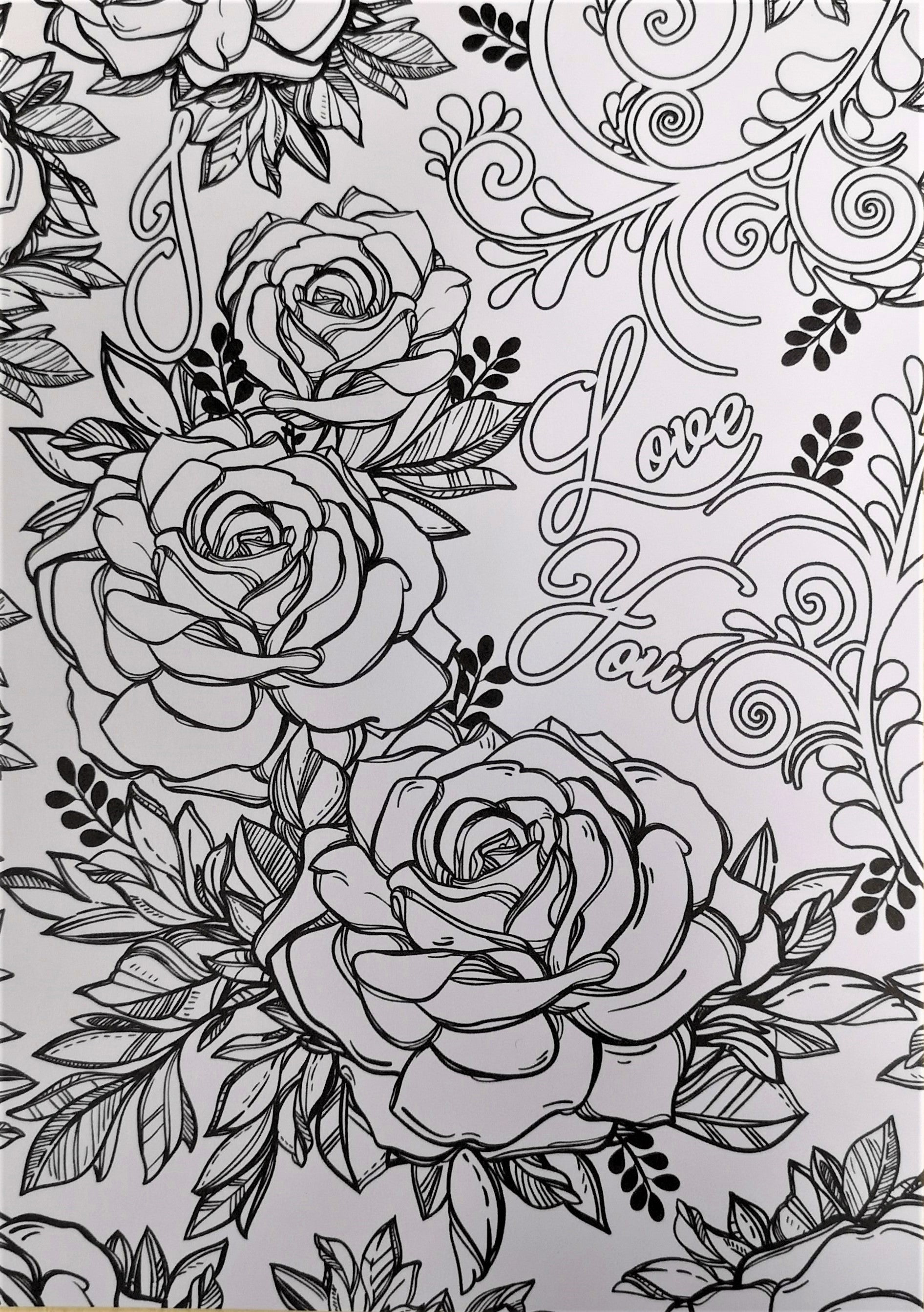DaliART - A5 Colouring Pages - 3 designs - 9 in total, Arts & Entertainment by The Craft House