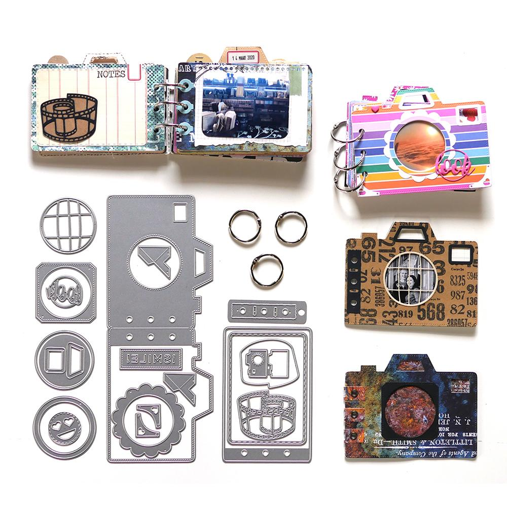 Elizabeth Craft Designs Camera Kit - K001 In Stock