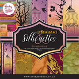Becky Seddon 'Extravagance and Silhouettes' Scrapbooking Stack - DaliART