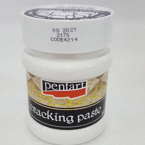 Pentart Crackle Paste White - 230ml