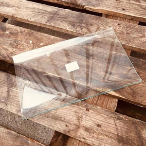 Glass Plate for Decorating -  Flat Rectangle Curve 36 x 22 - DaliART