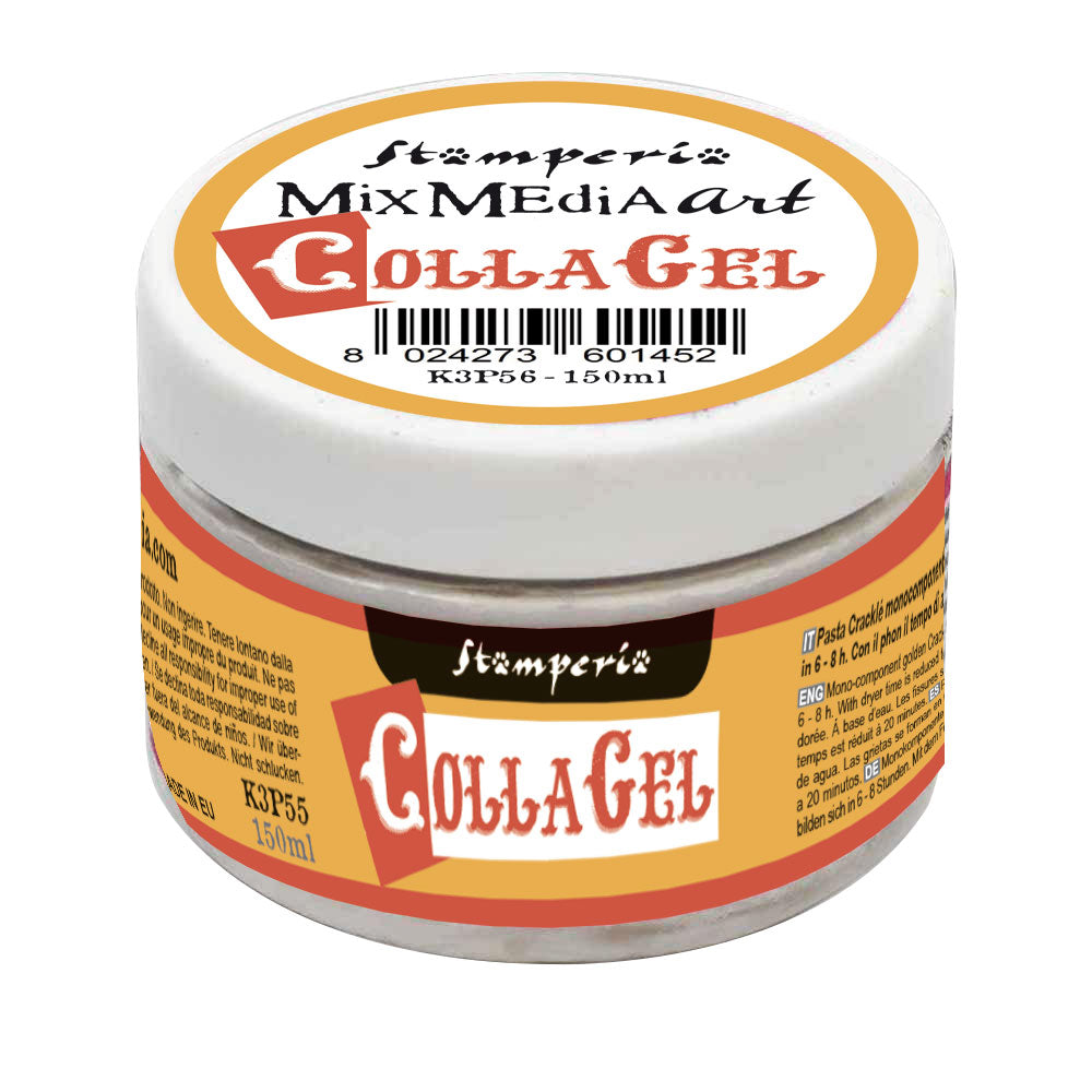 Stamperia CollaGel Scrapboking Glue 150ml - DC30M, Craft & Office Glue by The Craft House