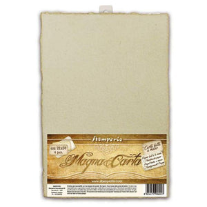 Stamperia Magna Carta Set of 4 Handmade Sheets - 21 x 30cm - Ancient