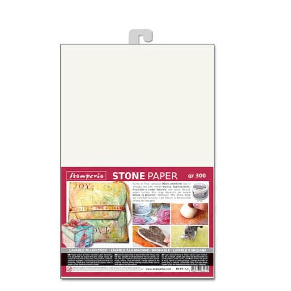 Stamperia Stone Paper A3 Sheet - DFPCA3, Art & Craft Paper by The Craft House
